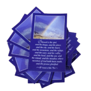 Blessed is the Spot -Teaching Cards