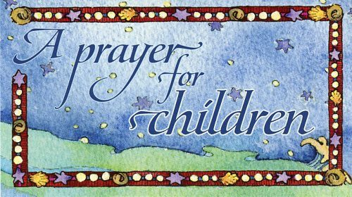 Prayer for Children – Teaching Card