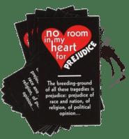 No Room for Prejudice – Teaching Card