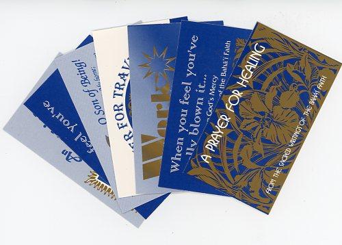 Mini Prayer Cards