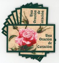 Una Oracion de Curacion -Spanish Teaching Cards