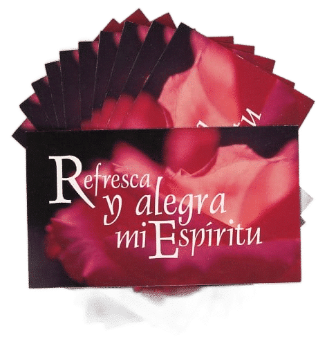 SPANISH Refresca y alegra (Refresh & Gladden)-  Teaching Cards