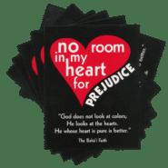 No Room in my Heart for Prejudice Postcard