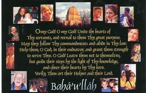 Prayer for Unity Postcards