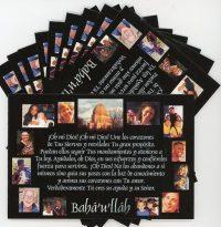 Spanish Prayer for Unity Postcards