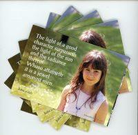 Children's Prayers Postcard Booklet