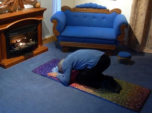 Prayer Mat Cover by Joe Paczkowski