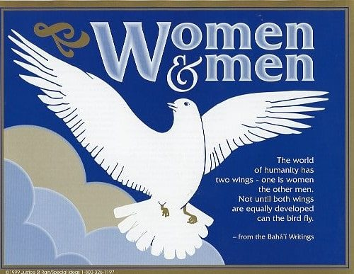 Women & Men Two Wings Poster Pamphlet