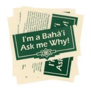 I'm a Baha'i Ask Me Why Pamphlet
