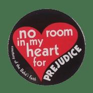 Bahai no room in my heart for prejudice magnet