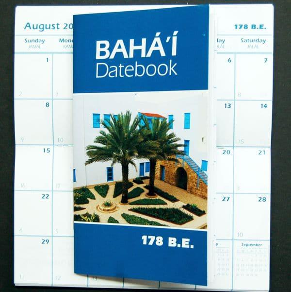 Bahai Datebook (178 BE)