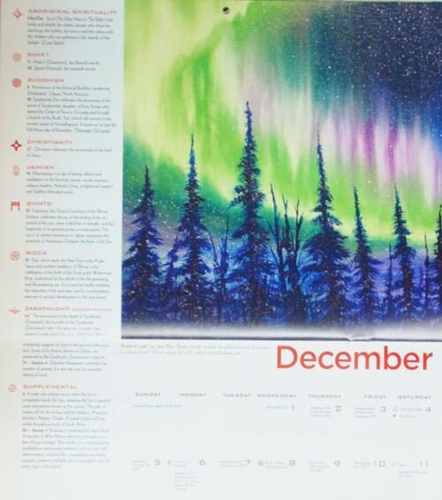 2021 MultiFaith Calendar