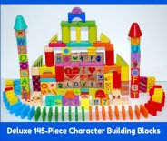 Deluxe 145-Piece ABC Character Building Blocks