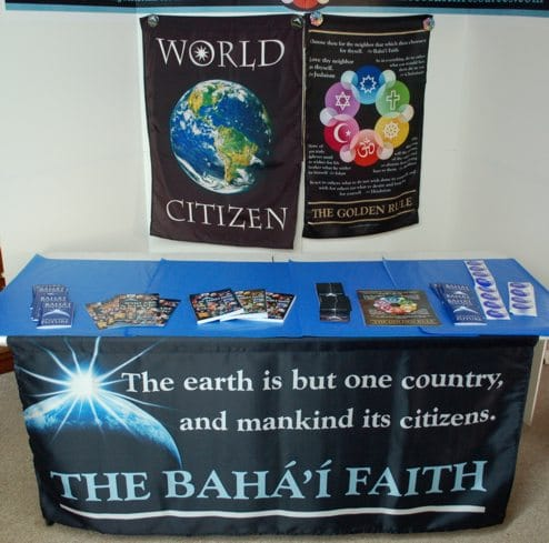 World Citizen Table Skirt / Banner