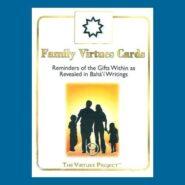 Bahai Family Virtue Cards