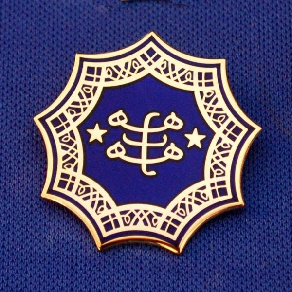 Ringstone Symbol Pendant w/ Cloisonne (5 colors)