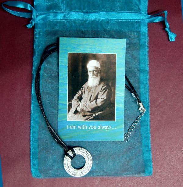 Abdu'l-Baha Memory Medallion Necklace