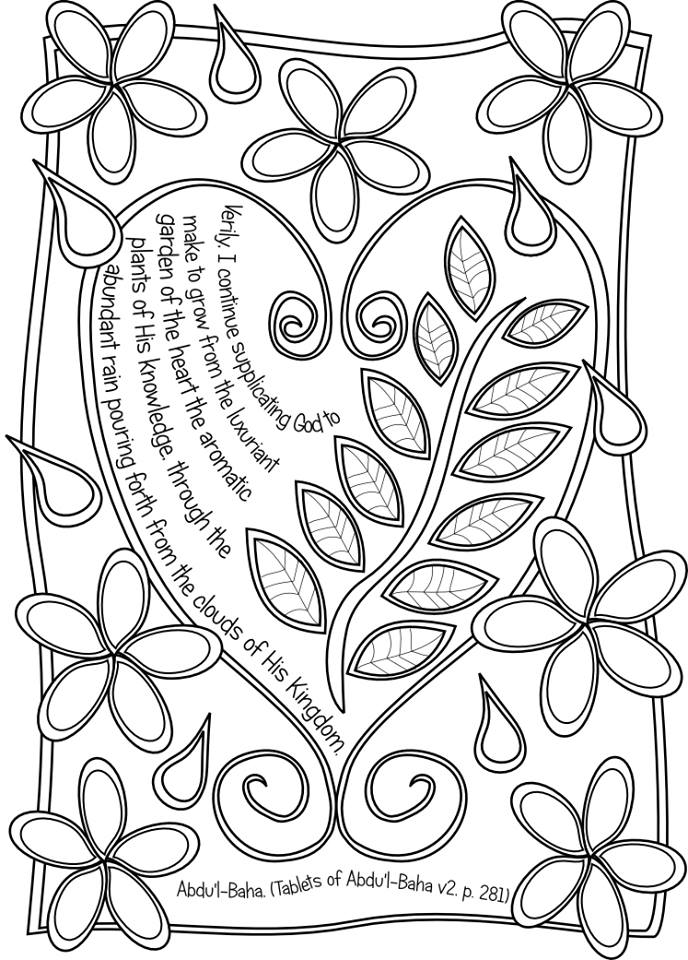 Leaves of Wisdom Coloring Book