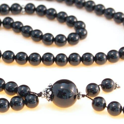 Black Onyx Bahai Prayer Beads