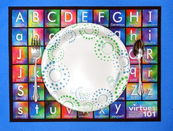 Virtues Placemat