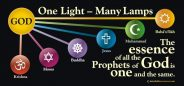 Satin One Light Many Lamps Table Skirt / Banner