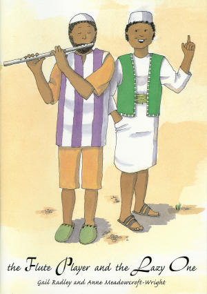 Flute Player and the Lazy One