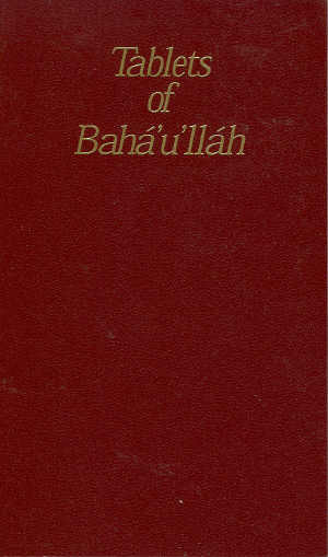 Tablets of Baha-u-llah