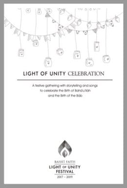 Light of Unity Dinner Party Celebration Guide