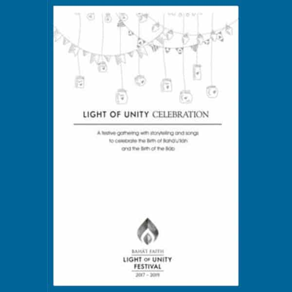 Light of Unity Dinner Party Celebration Guide