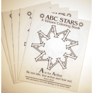 ABC STARS – A Virtues Coloring Book