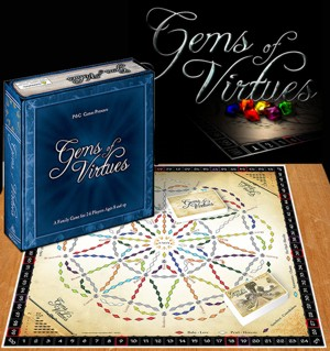 Gems of Virtues Board Game