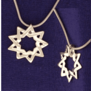 Floating Small Star Pendant in Gold-Plated Sterling