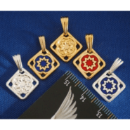 9 Pointed Star Charm (5 colors)