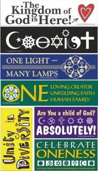 Assortment of Removable Baha'i Bumper Stickers