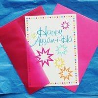 Star Ayyam-i-Ha card