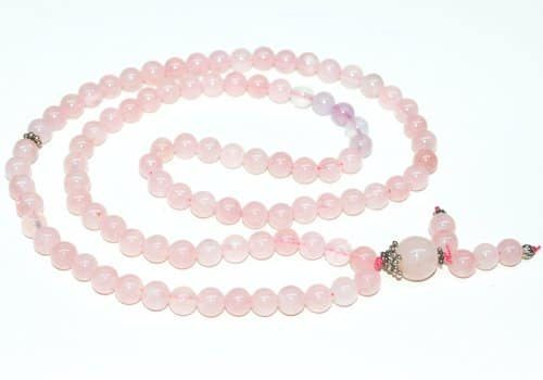 Rose Quartz Bahai Prayer Beads