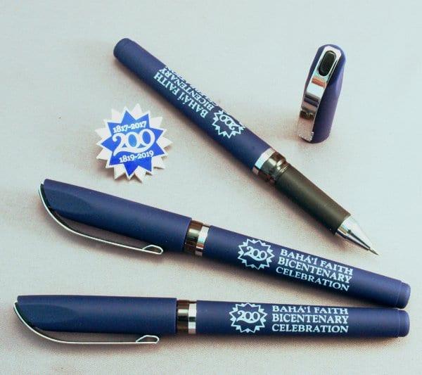 12 Bicentenary Gel Pens
