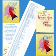 Virtue Angel Bookmark Gift Cards
