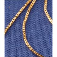 Vermeil Box Chain – 18 or 20 inch .9mm