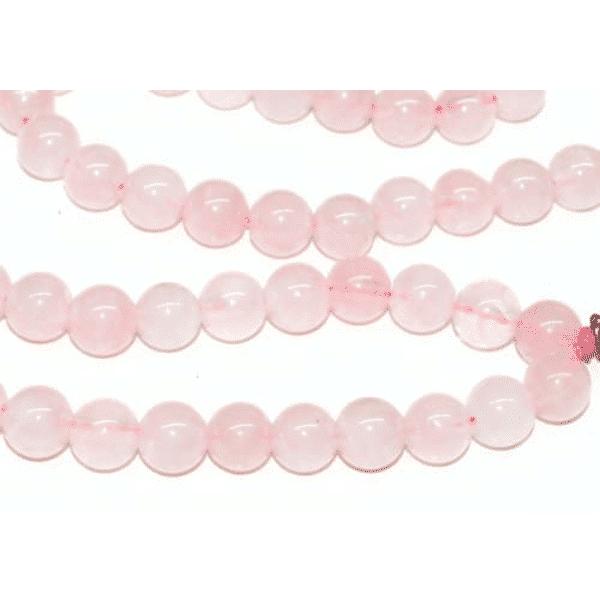 Rose Quartz Bahai Prayer Beads