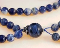 Sodalite Bahai Prayer Beads