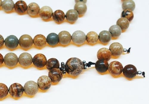 Picture Jasper Bahai Prayer Beads
