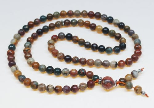 Red Creek Jasper Bahai Prayer Beads
