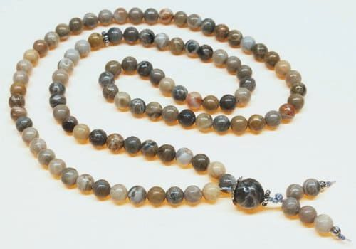 Fossil Coral Bahai Prayer Beads
