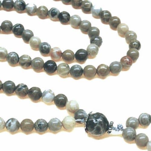 Fossil Coral Bahai Prayer Beads