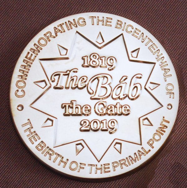 Bicentenary Medallion 2019