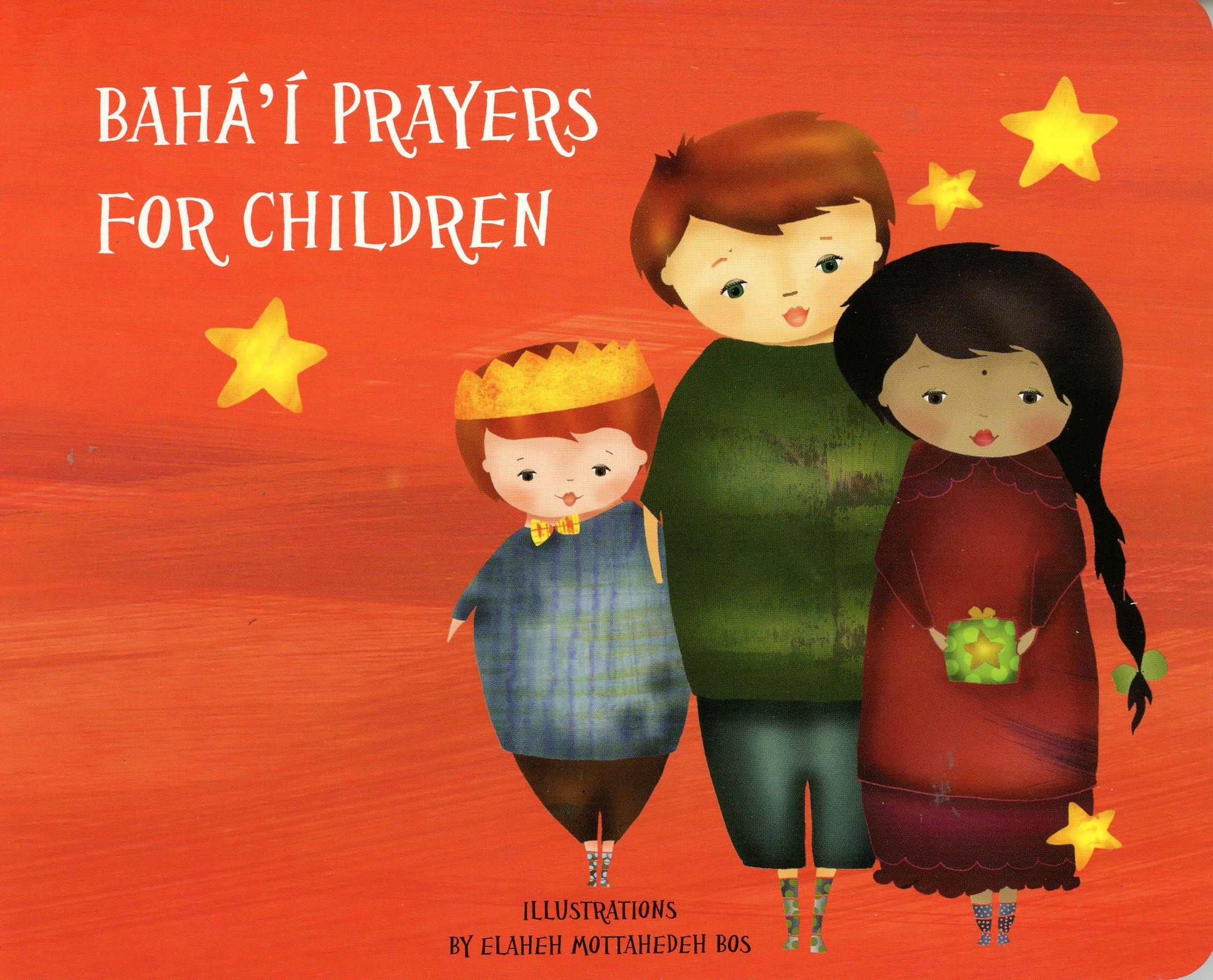 Bahai Prayers for Children Orange Board Book