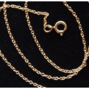 Gold Plated 18″ Cable Chain