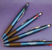 God Loves All Colors 4-color Pen w/ Stylus