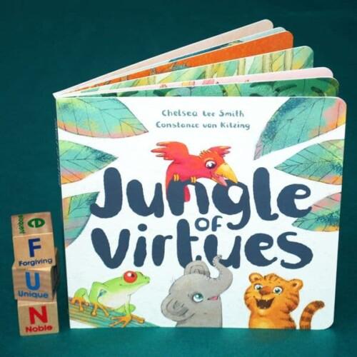 Jungle of Virtues Board Book